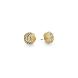 Marco Bicego Africa Constellation Diamond Stud Earrings OB1588 B Y
