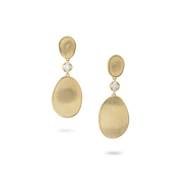 Marco Bicego Lunaria Yellow Gold Earrings OB1619BY