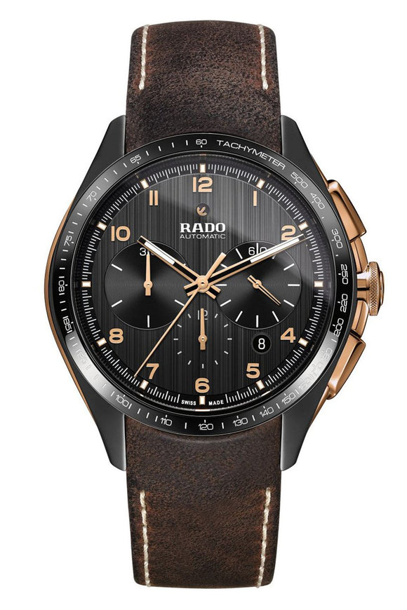Rado HyperChrome Automatic Chronograph L.E. Black Dial With Rose Gold Colored (Deposit)