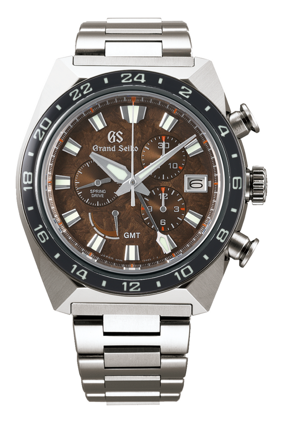 Grand Seiko Sport Spring Drive Titanium Chronograph GMT 20th Anniversary Limited Edition SBGC231