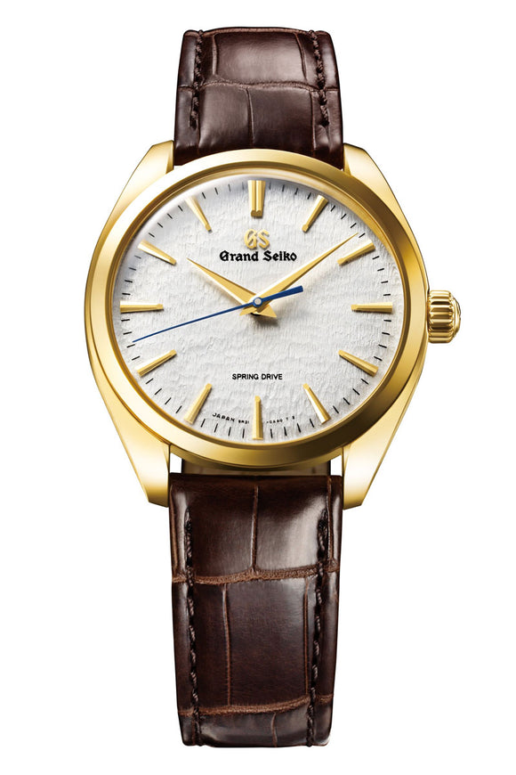 Grand Seiko Spring Drive 18K Yellow Gold 20th Anniversary SBGY002