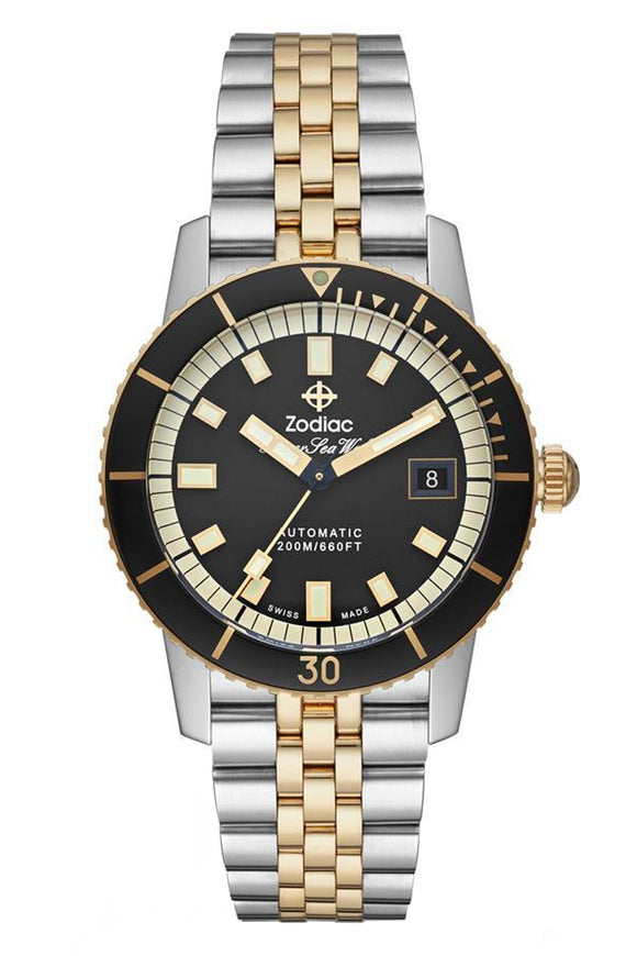 Zodiac Super Sea Wolf Automatic Two-Tone ZO9271 (Deposit)