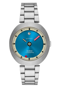 Zodiac Astrographic Metallic Blue Limited Edition ZO6606