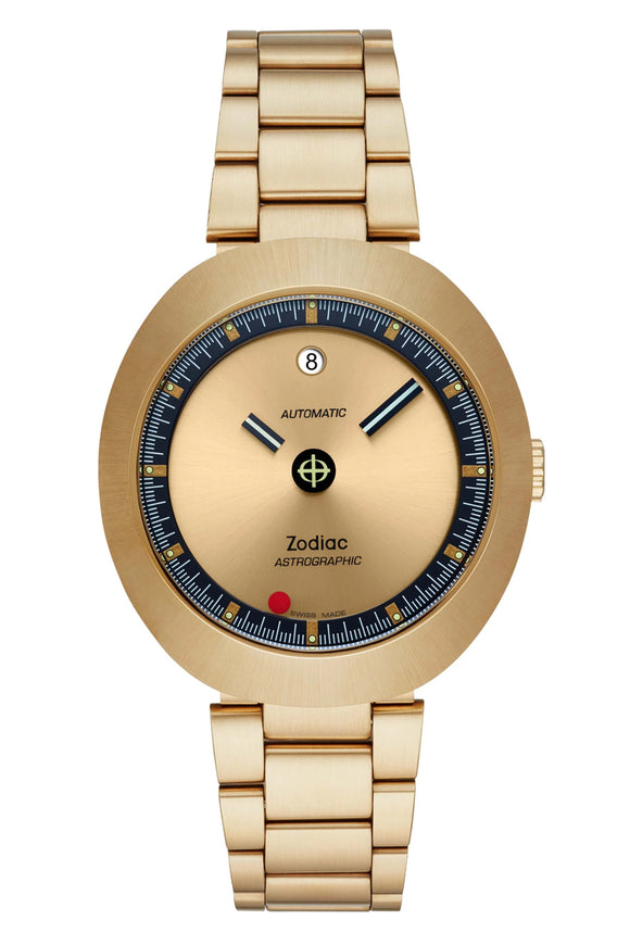 Zodiac Astrographic Gold-Tone Limited Edition ZO6607