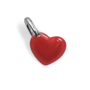 Red Enamel Mini Heart