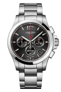 Longines Conquest V.H.P. Chronograph Black Stainless Steel (Deposit)