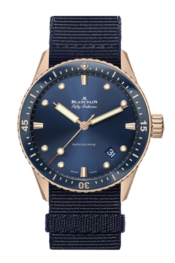 Blancpain Fifty Fathoms Bathyscaphe Sedna Gold 5000-36S40-NAOA (Deposit)