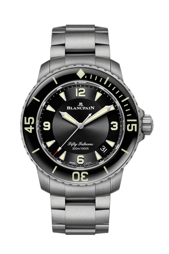 Blancpain Fifty Fathoms Automatic Titanium 5015-12B30-98