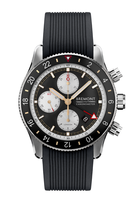 Bremont Supermarine Chrono Black GMT