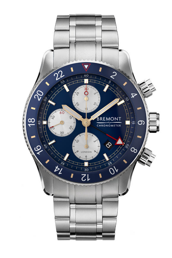 Bremont Supermarine Chrono Blue GMT (Deposit)