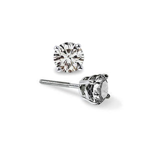 Pure Grown Diamond Lab Created Diamond Earrings