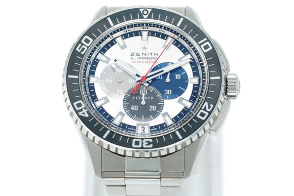 Zenith El Primero Stratos Flyback Striking 10th Chronograph 03.2062.4057/69.M2060
