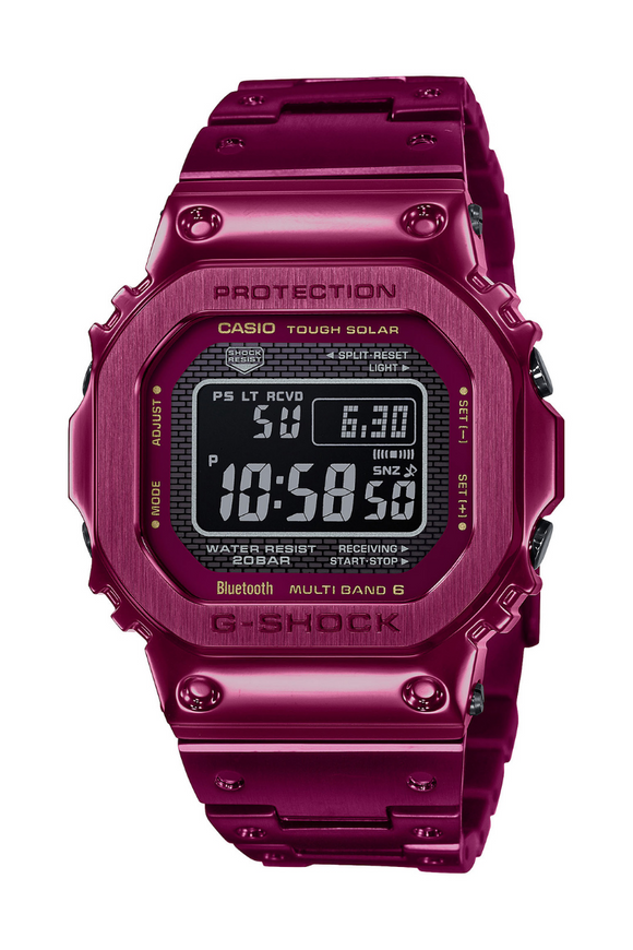G-Shock Full Metal Red GMWB5000RD-4