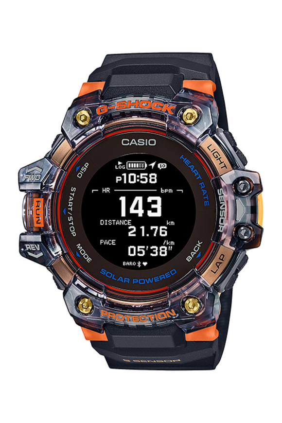 G-Shock G-SQUAD GBD-H1000-1A4 with HRM