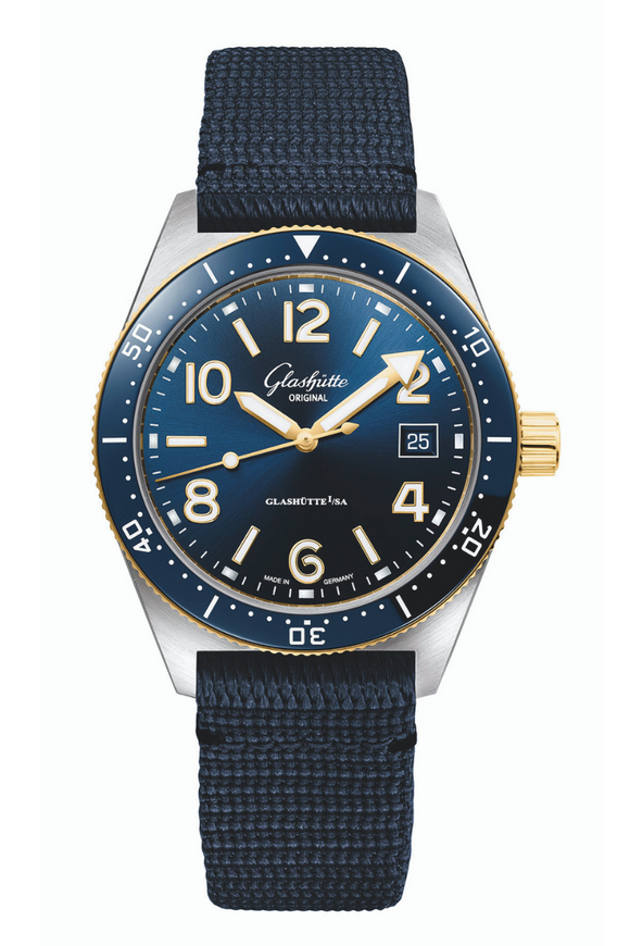 Glashütte Original SeaQ 1-39-11-10-90-34