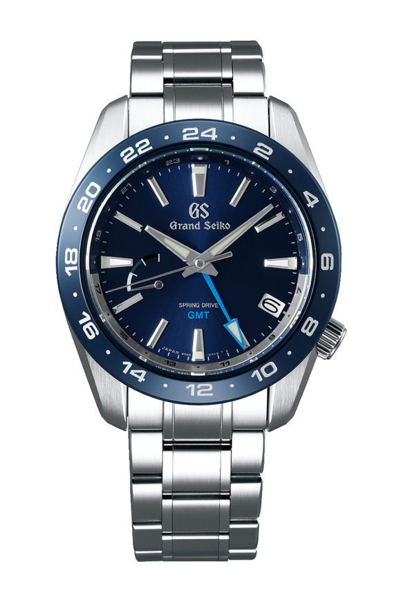 Grand Seiko Spring Drive GMT 40.5mm SBGE255 (Deposit)