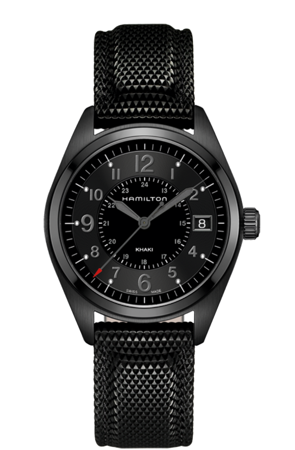 Hamilton Khaki Field Quartz Full Black H68401735