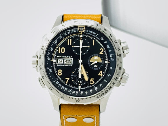 Hamilton Khaki X-Wind Auto Chrono Limited Edition Watch H77796535