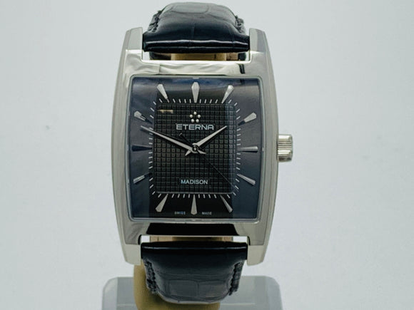 Eterna Madison Manual Black Dial Watch 7711.41.51.1177