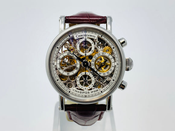 Chronoswiss Opus Skeleton Chronograph Automatic Watch CH7523S