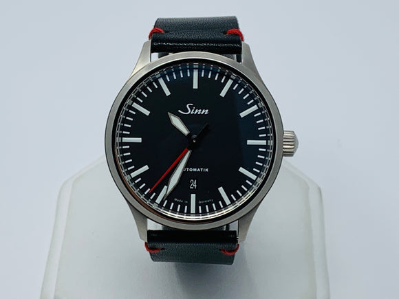 Sinn 836 Tegimented Steel Black Dial Watch