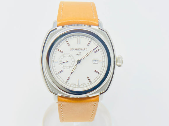 JeanRichard 1681 Small Second White Dial Watch 60330-11-131-HDC0