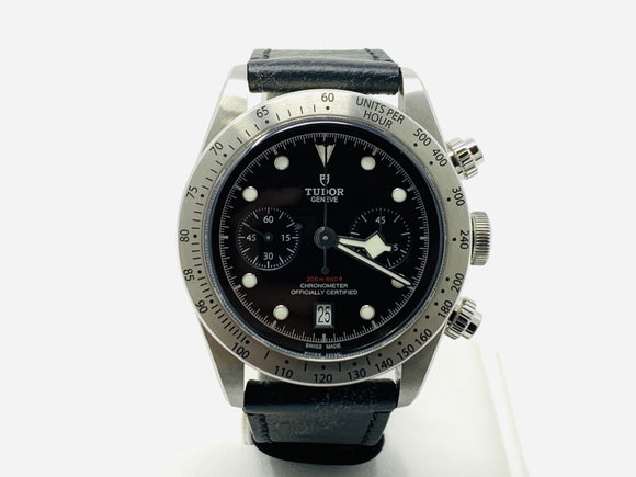 Tudor Black Bay Chrono Black Dial Watch M79350-0002