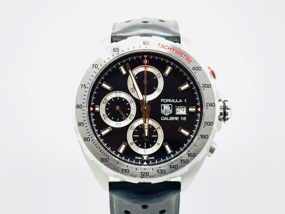 Tag Heuer Formula 1 Caliber 16 Chronograph Watch CAZ2010.FT8024