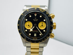 Tudor Black Bay Chrono Two-Tone Watch 79363N