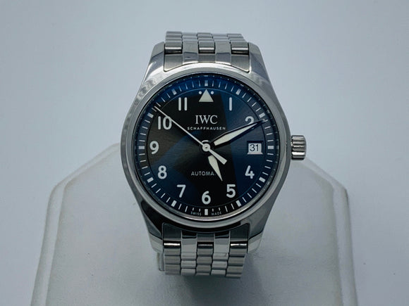 IWC Pilot Steel Automatic Slate Gray Dial Watch IW324002