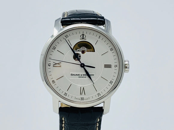Baume & Mercier Classima Executives Open Wheel Watch MOA08688 with Extra Strap