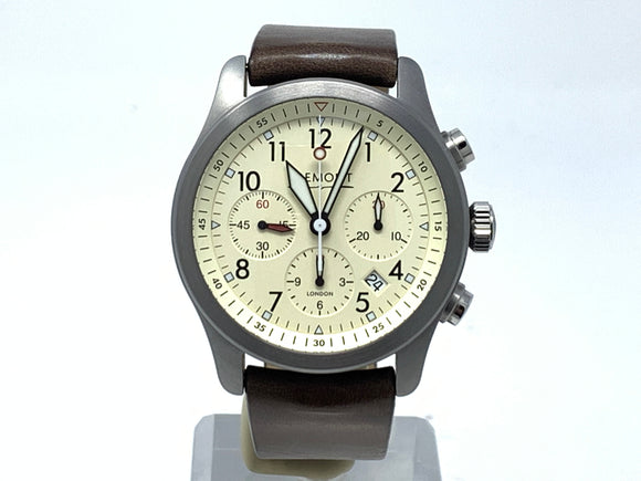 Bremont Cream Pilot's Chronograph Watch ALT1-P2/CR