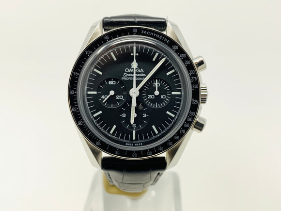 Omega Speedmaster Moonwatch Professional Chronograph Watch 311.33.42.30.01.001 With Two Extra Straps