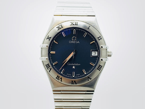 Omega Constellation Classic Blue Dial Men's Watch 1512.40.00