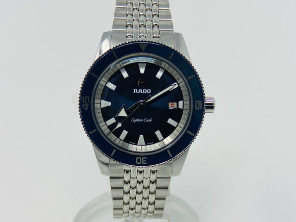 Rado Captain Cook Blue Dial Automatic Watch R32505208