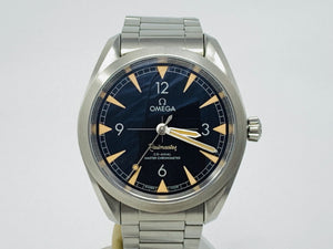 Omega Seamaster Railmaster Anti-Magnetic Co-Axial Chronometer Watch 220.10.40.20.01.001