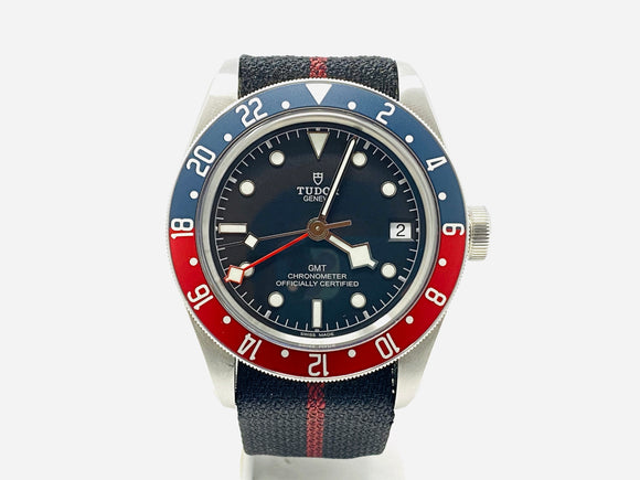Tudor Black Bay Pepsi Bezel GMT Watch 79830RB