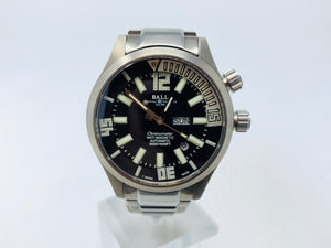 Ball Engineer Master II Diver Chronometer Watch DM1022A-P1CA with Extra Strap