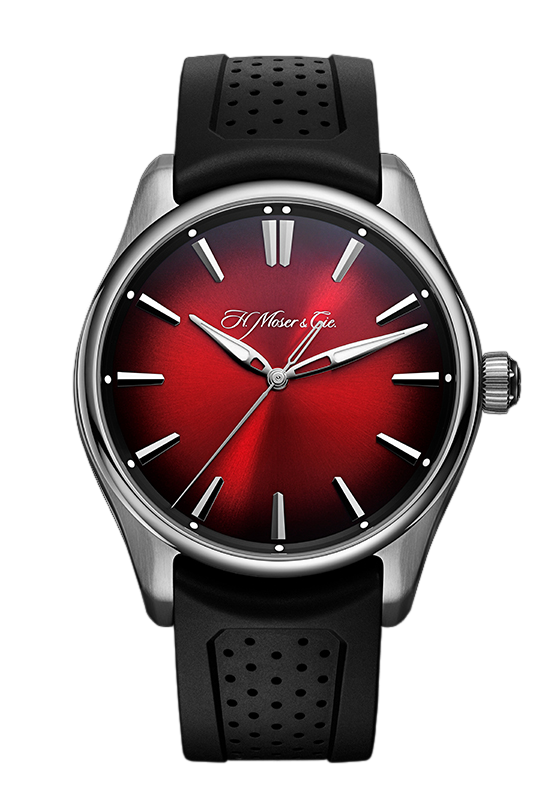 H. Moser & Cie Pioneer Centre Seconds Swiss Mad Red 3200-1207