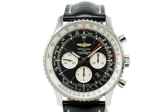 Breitling Navitimer 01 AB012721 with Extra Crocodile Strap with Deployant Clasp