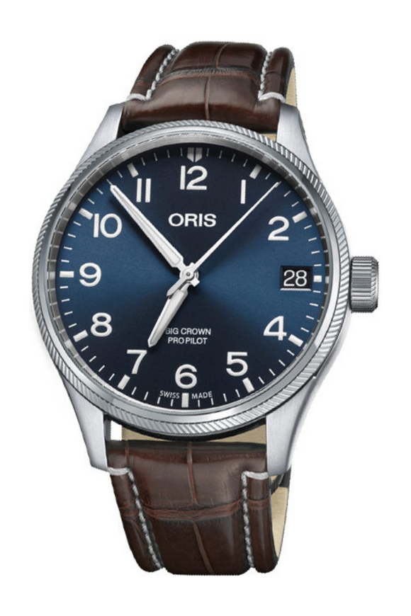 Shop-Worn Oris Big Crown ProPilot Date 01 751 7697 4065-07 1 20 72FC