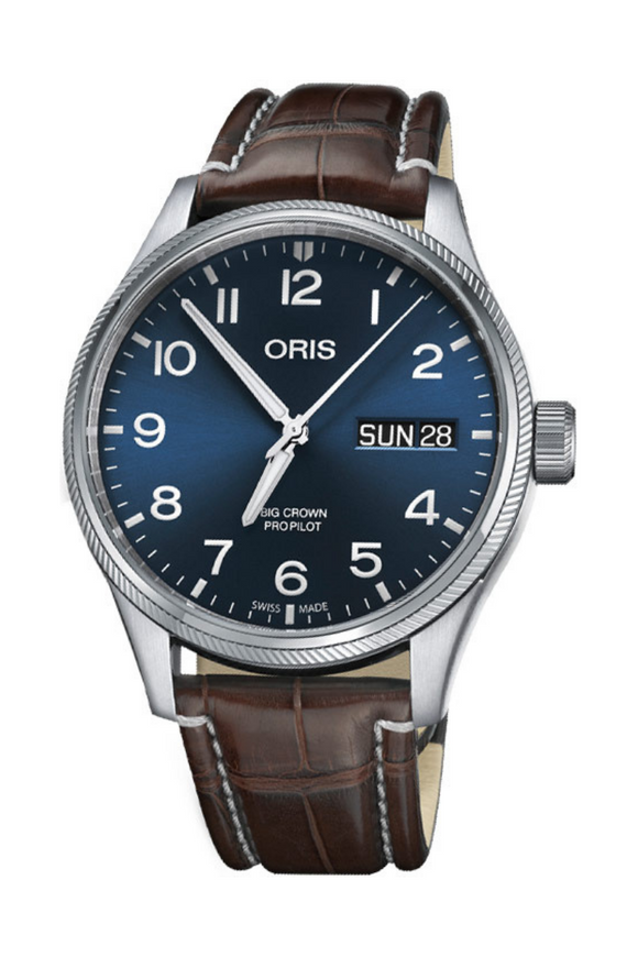 Shop-Worn Oris Big Crown ProPilot Day Date 01 752 7698 4065-07 1 22 72FC