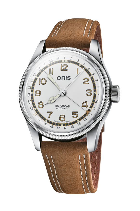 Oris Big Crown Pointer Date Roberto Clemente Limited Edition Watch 01 754 7741 4081-SET