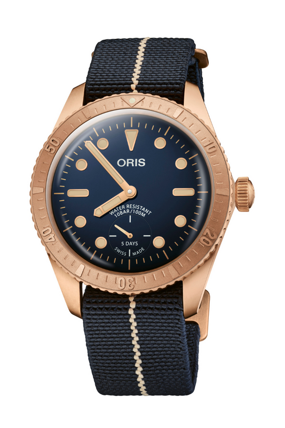 Oris Carl Brashear Calibre 401 Bronze Limited Edition 01 401 7764 3185-Set