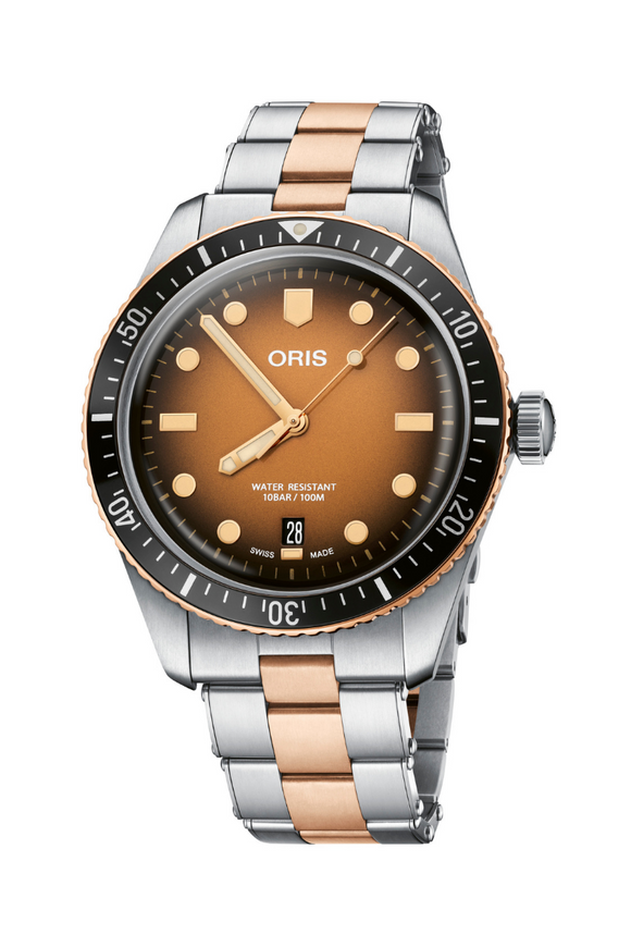 Oris Divers Sixty-Five Sunset 01 733 7707 4356-07 8 20 17