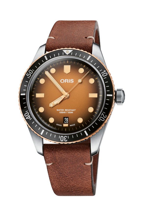 Oris Divers Sixty-Five Sunset 01 733 7707 4356-07 5 20 45
