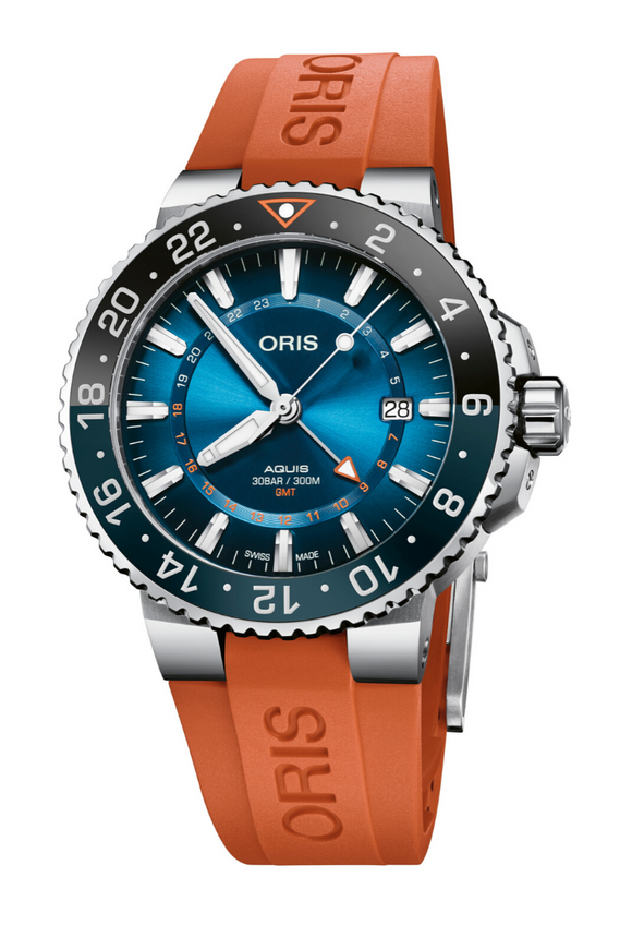 Oris Carysfort Reef Limited Edition Stainless Steel 01 798 7754 4185 Rubber Strap