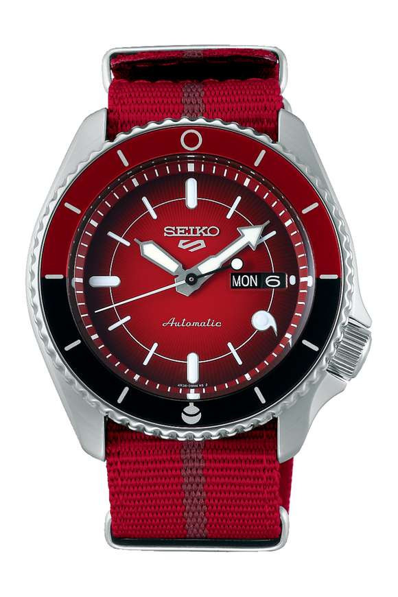 Seiko 5 Boruto Limited Edition Sarada SBSA089 Watch