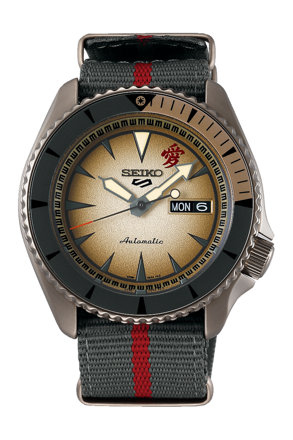 Seiko 5 Naruto Limited Edition Gaara SBSA093 Watch