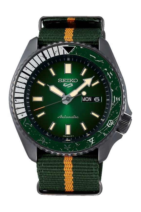 Seiko 5 Naruto Limited Edition Rock Lee SBSA095 Watch